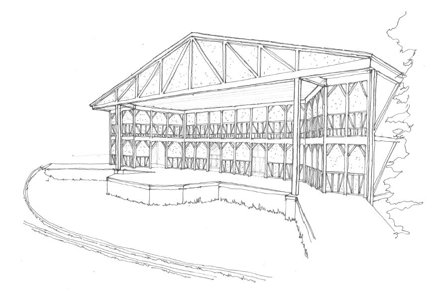 Revised Stagehouse Sketch